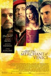 The Merchant of Venice movie poster [Al Pacino, Joseph Fiennes] 27x40