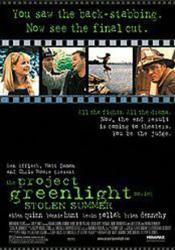 Project Greenlight Stolen Summer poster /Aidan Quinn/Bonnie Hunt 27x40