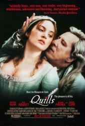 Quills movie poster [Geoffrey Rush, Kate Winslet] 27x40 original