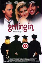 Getting In movie poster [Kristy Swanson, Andrew McCarthy] 27x40