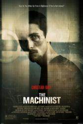 The Machinist movie poster [Christian Bale] original 27x40 one-sheet
