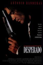 Desperado movie poster [Antonio Banderas] video poster-NM