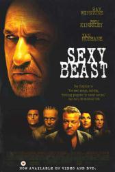 Sexy Beast movie poster [Ben Kingsley, Ray Winstone & Ian McShane]