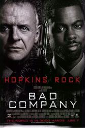 Bad Company movie poster [Anthony Hopkins, Chris Rock] original 27x40