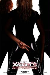 Charlie's Angels: Full Throttle movie poster (2003) 27x40 advance