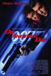 Die Another Day movie poster [Pierce Brosnan & Halle Berry] James Bond