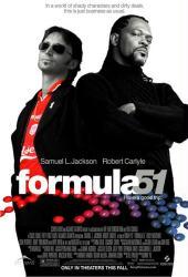 Formula 51 movie poster [Samuel L. Jackson, Robert Carlyle] 27x40