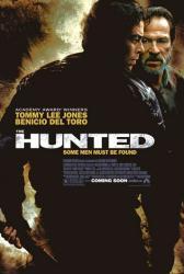 The Hunted movie poster [Tommy Lee Jones, Benicio Del Toro] 27x40