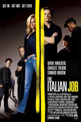 The Italian Job poster [Mark Wahlberg/Charlize Theron/Edward Norton]NM