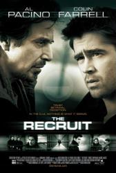 The Recruit movie poster [Al Pacino & Colin Farrell] NM