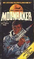 Moonraker PB Book/1979 [Roger Moore as James Bond drawn on cover]