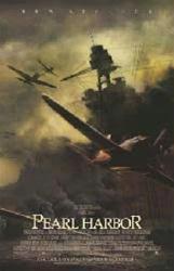 Pearl Harbor movie poster [battle underway] video poster/NM