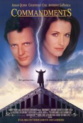 Commandments movie poster [Aidan Quinn, Courteney Cox] 27x40