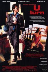 U Turn movie poster [Sean Penn & Jennifer Lopez] video poster