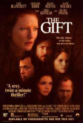 The Gift movie poster [Cate Blanchett, Katie Holmes, Keanu Reeves]
