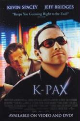 K-PAX movie poster [Kevin Spacey, Jeff Bridges] 27x40 video poster