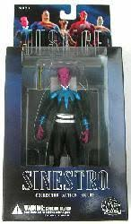 Justice League Series 1: Sinestro Collector action figure (DC Direct)