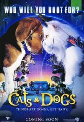 Cats & Dogs movie poster (2001) 27x40