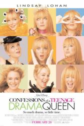 Confessions of a Teenage Drama Queen poster [Lindsay Lohan] 27x40