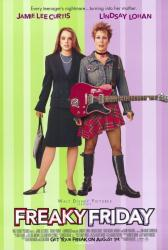 Freaky Friday movie poster [Jamie Lee Curtis, Lindsay Lohan] 27x40
