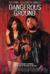 Dangerous Ground movie poster [Ice Cube, Elizabeth Hurley] 27x40