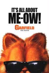 Garfield: The Movie poster (2004) original 27x40 advance VG