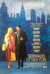 Sidewalks of New York movie poster [Edward Burns, Heather Graham]