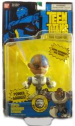 Teen Titans: Super Deformed Cyborg feature figure (BanDai/2004)
