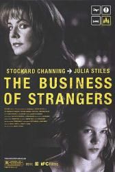The Business of Strangers poster [Stockard Channing & Julia Stiles]