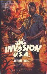 Invasion U.S.A. paperback book/1985 [Chuck Norris] Movie Tie-In
