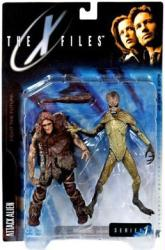 X Files Fight the Future: Attack Alien Series 1 figure (McFarlane) NM