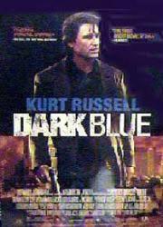 Dark Blue movie poster [Kurt Russell] 27x40 video poster