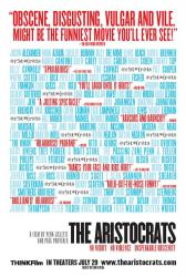 The Aristocrats movie poster (2005) 27x40 original