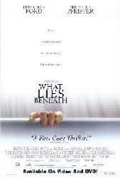 What Lies Beneath movie poster (video version) VG