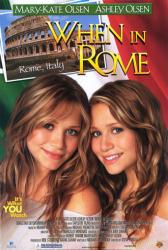 When In Rome movie poster [Mary-Kate & Ashley Olsen/Olsen Twins] VG