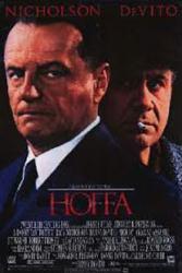 Hoffa movie poster [Jack Nicholson, Danny DeVito] 26x40