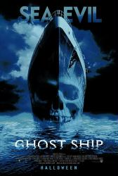 Ghost Ship movie poster (2002) 27x40 original VG