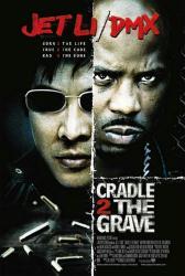 Cradle 2 the Grave movie poster [Jet Li, DMX] original 27x40