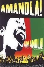 Amandla!-4'' X 6'' promotional sticker (Nr. Mint)