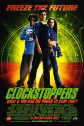 Clockstoppers movie poster [Jesse Bradford, Paula Garces] 27x40