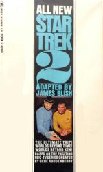Star Trek 2 paperback book/1968 [adapted stories from TV series]