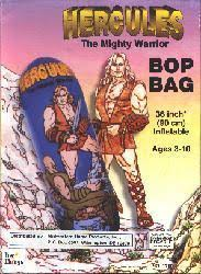 Hercules The Mighty Warrior: 36'' inflatable Bop Bag (Toy Things/1997)