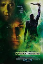 Star Trek: Nemesis movie poster [Patrick Stewart] 27x40 single-sided