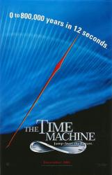 The Time Machine movie poster (2002) advance version