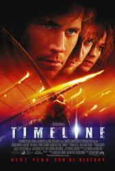 Timeline movie poster [Paul Walker, Gerard Butler & Frances O'Connor]