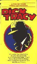 Dick Tracy paperback book/1990 (Movie Tie-In)