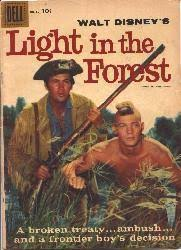 Light In the Forest comic book (1958/Dell #891) Walt Disney