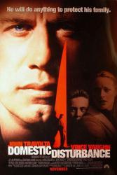 Domestic Disturbance movie poster [John Travolta] original 27x40