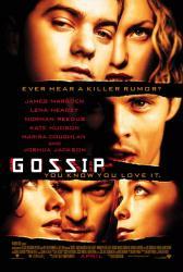 Gossip movie poster [James Marsden, Lena Headey, Kate Hudson, Reedus]
