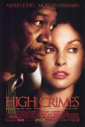 High Crimes movie poster [Morgan Freeman, Ashley Judd] 27x40 original